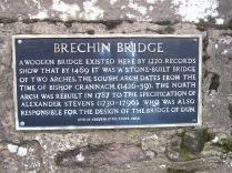 Brechin Bridge Plaque